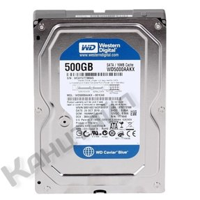 "Жесткий диск Western Digital 500Gb (WD5000AAKX) 3.5"" SATA3"