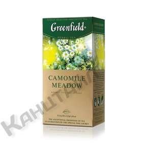 Чай Greenfield CAMOMILE MEADOW травяной 25пак 0523-10