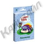 Пластилин №1 School My Little Cars, 6 цвевто, со стеком